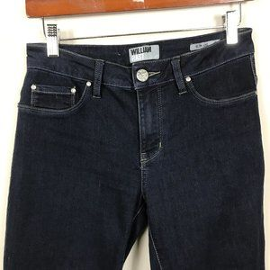 WILLIAM RAST  slim leg Jeans Sz 6